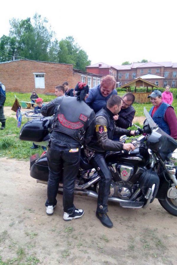 Поездка в школу-интернат к детям инвалидам (г. Смоленск)